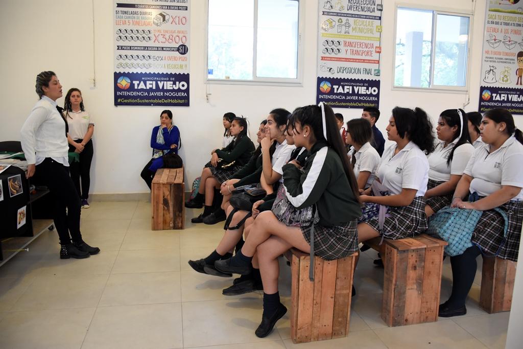 El CIAT junto a las Escuelas forman promotores ambientales