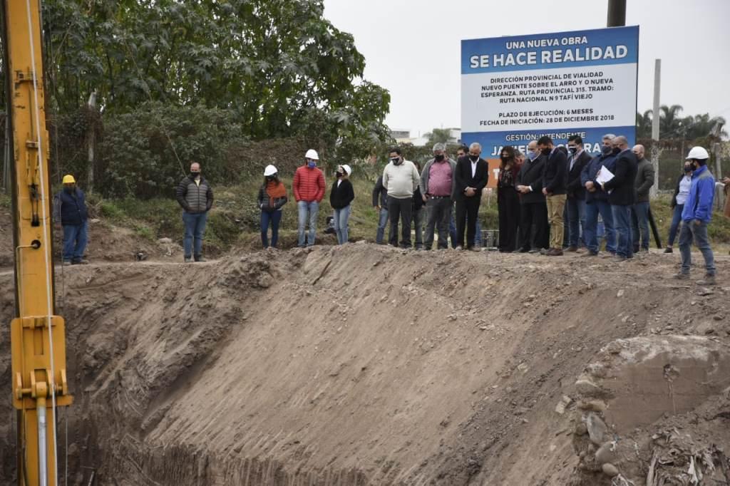 Puente Ruta 315: una solución definitiva a las inundaciones