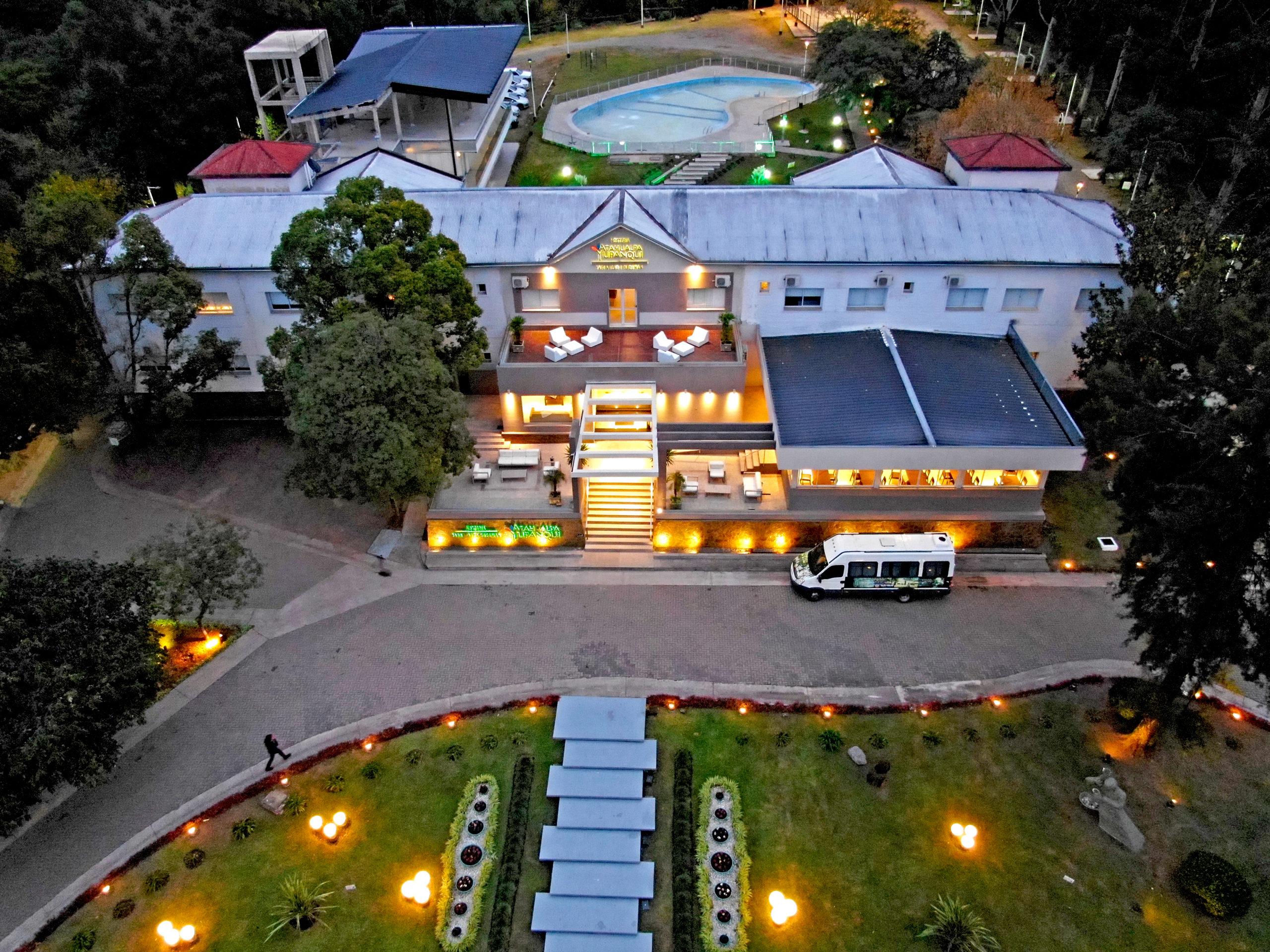 Numerosas personalidades eligen la hostería Atahualpa Yupanqui para alojarse