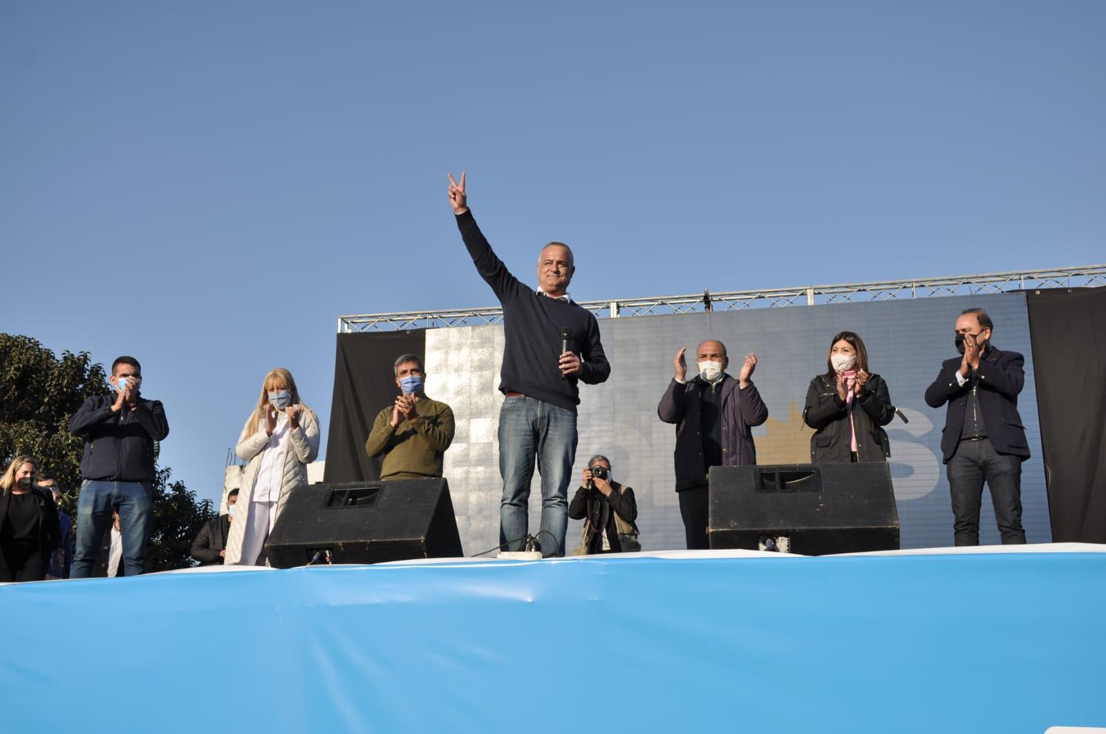 Manzur y Noguera presentaron en Tafí Viejo a los candidatos del Frente de Todos